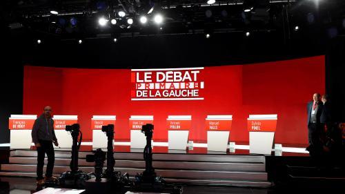 Primaire de la gauche : thèmes, temps de parole... Le mode d'emploi du débat de l'entre-deux-tours