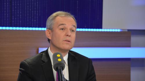 """Primaire de la gauche : François de Rugy """"ne peut pas voter pour Benoît Hamon"""""""