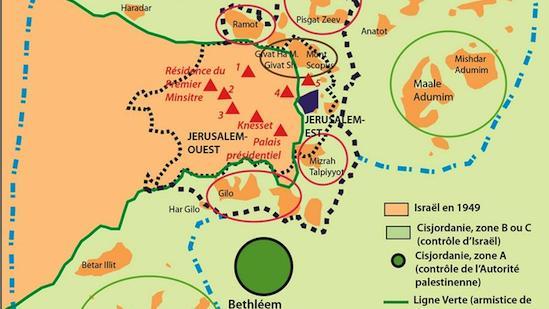jerusalem situation geographique