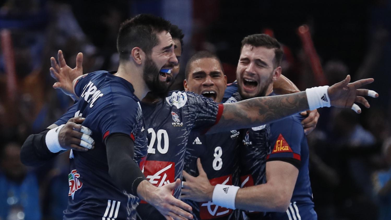 Handball la france s 39 impose en finale face la norv ge 33 26 et d croche son sixi me titre - Finale coupe du monde handball ...