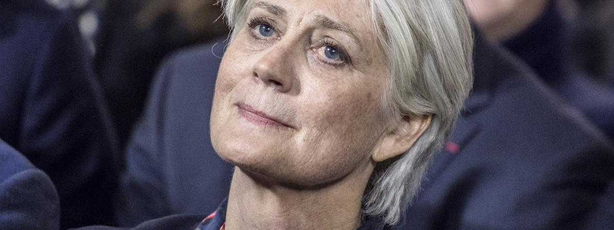 Penelope Fillon assiste à un meeting de son mari, François Fillon, le 29 janvier 2017 à Paris.