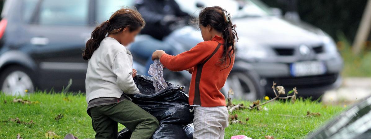 Les enfants exilés et les enfants roms sont les principales victimes du mal-logement des mineurs en France. Photo d'illustration.