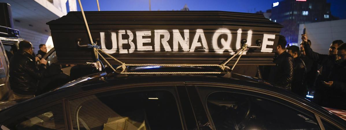 vtc uber en passe de gagner son bras de fer avec les chauffeurs. Black Bedroom Furniture Sets. Home Design Ideas