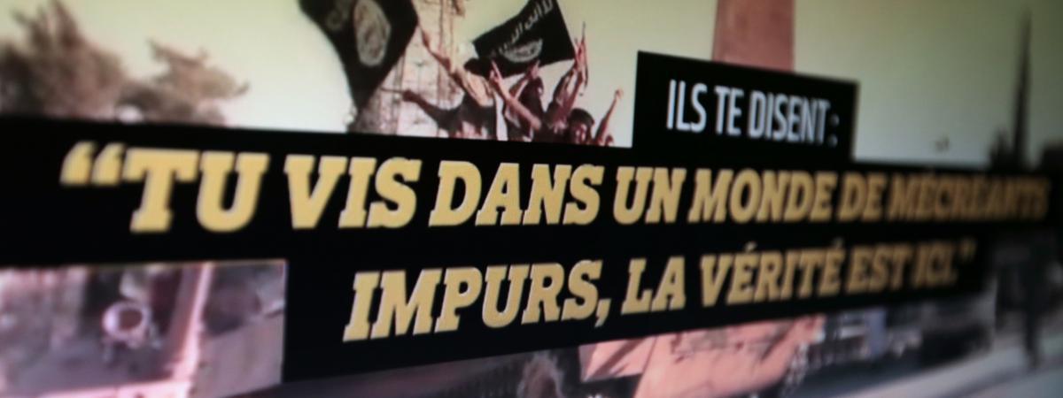 Capture d\'écran d\'un site jihadiste, effectuée le 28 janvier 2015.