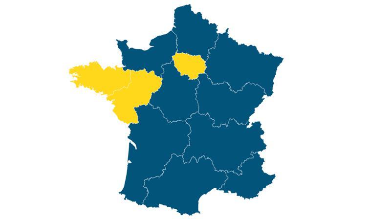 carte de france election presidentielle