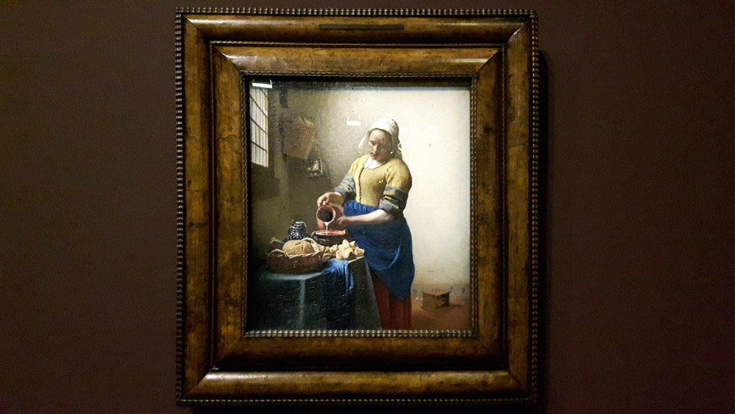 vermeer au louvre l 39 exposition du ma tre de la lumi re naturelle et de la retenue. Black Bedroom Furniture Sets. Home Design Ideas