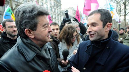 Présidentielle: emploi, écologie, Europe… Hamon et Mélenchon sont-ils si proches qu'on le dit?