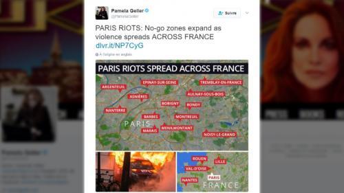 """""""La violence se répand dans toute la France"""": mais d'où sort cette pseudo-carte des """"no go-zones""""?"""