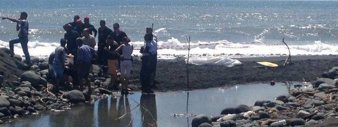 L\'attaque du requin s\'est produiteà Saint-André, sur la côte est de La Réunion, mardi 21 février 2017.