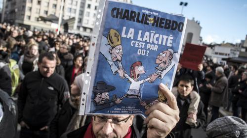 """Laïcité: """"Charlie Hebdo"""" demande aux candidats à la présidentielle de préciser leur position"""