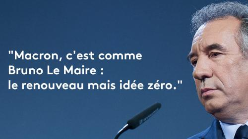 EN IMAGES. Présidentielle : douze fois où François Bayrou a dézingué Emmanuel Macron avant de le rallier
