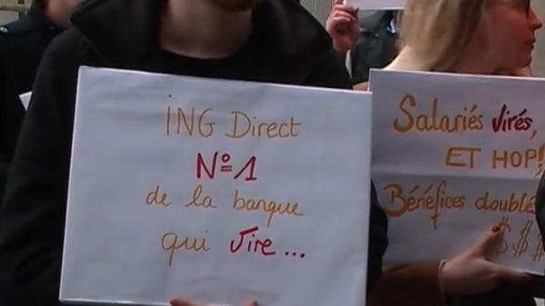 ING Direct : des salariés apprennent leur licenciement par email