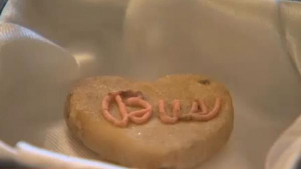Etats-Unis : un cookie de la Saint-Valentin conservé depuis 1932