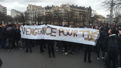 DIRECT. Affaire Théo : des heurts éclatent lors d'une manifestation de lycéens à Paris
