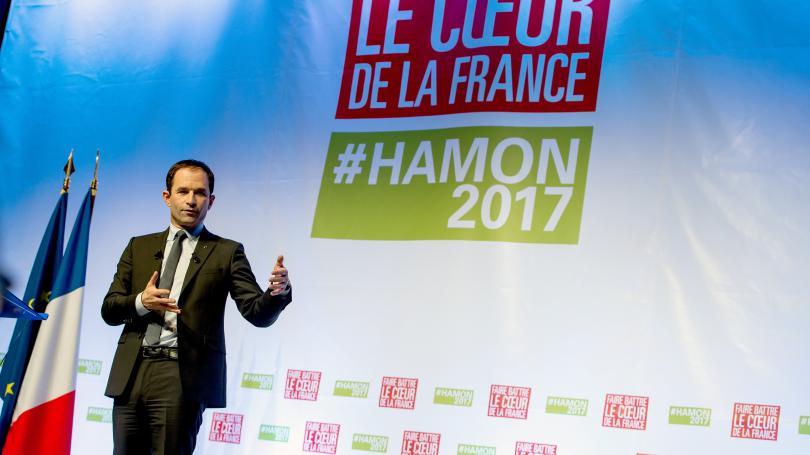 """VIDEO. """"Evidemment, je suis prêt à discuter avec Mélenchon"""", lance Benoît Hamon"""