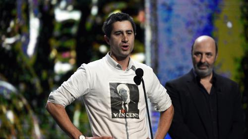 """César 2017 : récompensé pour """"Merci Patron !"""", François Ruffin appelle François Hollande à """"se bouger le cul"""" pour les ouvriers"""