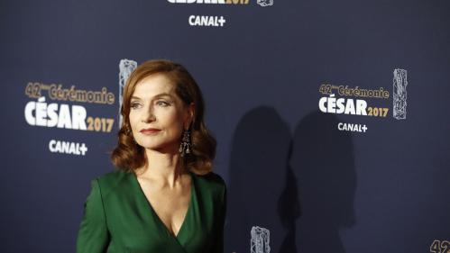 """DIRECT. César 2017 : """"Elle"""" de Paul Verhoeven sacré meilleur film, son interprète Isabelle Huppert meilleur actrice"""