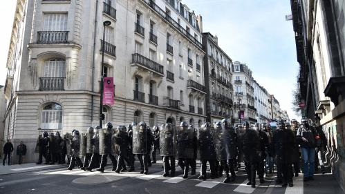 Nantes : plus de 2 000 personnes manifestent contre la venue de Marine Le Pen