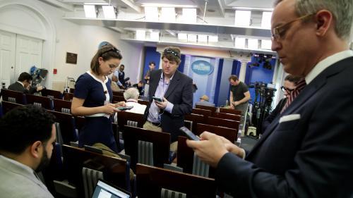 La Maison Blanche interdit à plusieurs médias l'accès à une conférence de presse
