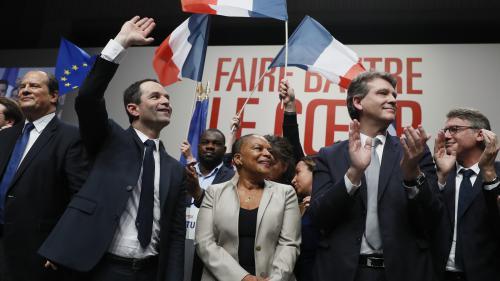 Présidentielle : Arnaud Montebourg et Vincent Peillon intègrent l'équipe de campagne de Benoît Hamon