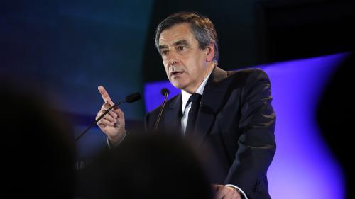 """François Fillon dénonce """"un climat de quasi-guerre civile"""" après des manifestations contre plusieurs candidats"""