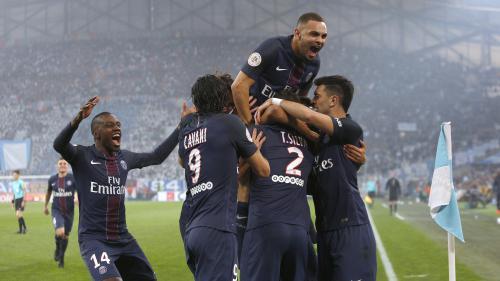 Ligue 1 : le PSG corrige l'OM 5-1 au Vélodrome, pire défaite de l'OM dans un clasico depuis 40 ans