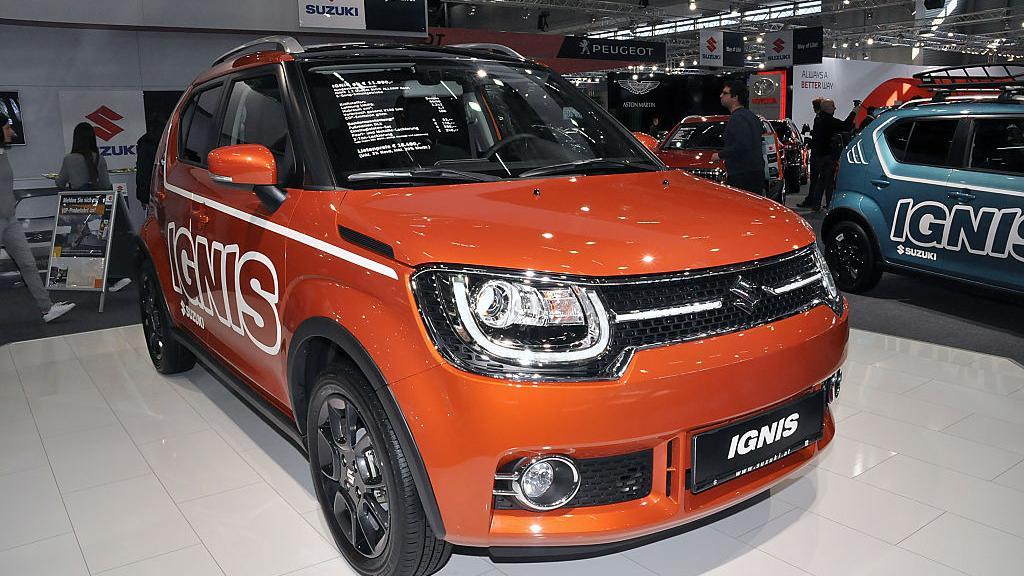 Fiat Panda 2017 >> L'auto. Le Suzuki Ignis, le plus petit des 4X4