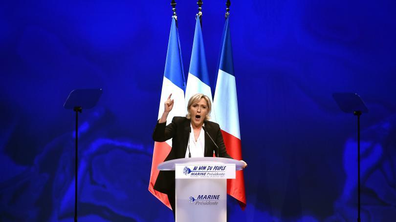 """Le Syndicat de la magistrature dénonce des """"menaces à peine voilées"""" de Marine Le Pen contre l'institution judiciaire"""