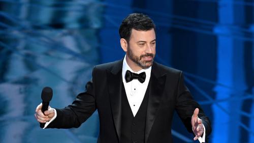 VIDEO. Cérémonie des Oscars : les piques du présentateur Jimmy Kimmel à Donald Trump