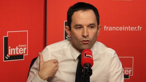 """Benoît Hamon: """"Je considère que ma place est au centre de la gauche"""""""