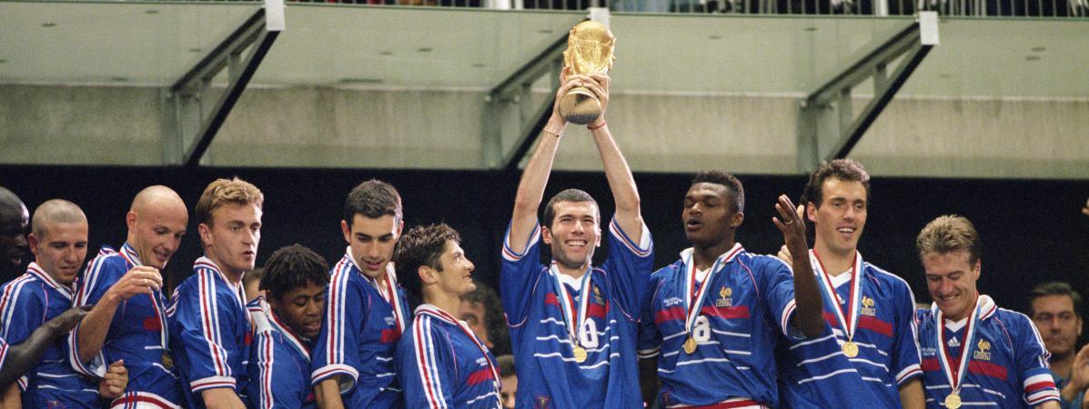 Comment les bleus champions du monde continuent de se tirer dans les pattes - France 98 coupe du monde ...