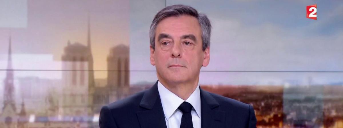 François Fillon, le 5 mars 2017 sur le plateau de France 2.