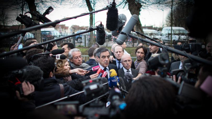 """""""Nazis"""", """"collabos"""", """"sale race""""... Les journalistes pris pour cible dans les meetings de François Fillon"""