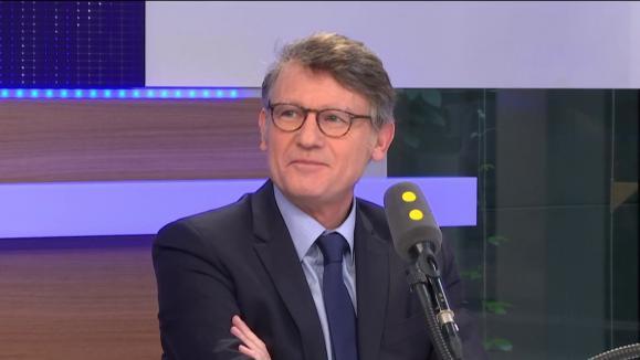 Vincent Peillon député européen PS et soutien de Benoît Hamon à la présidentielle invité de franceinfo vendredi 10 mars