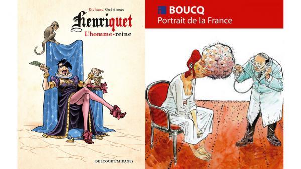 BD, bande dessinée. Une histoire de France légèrement barrée