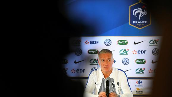 Didier Deschamps le 14 novembre 2016 à Lens