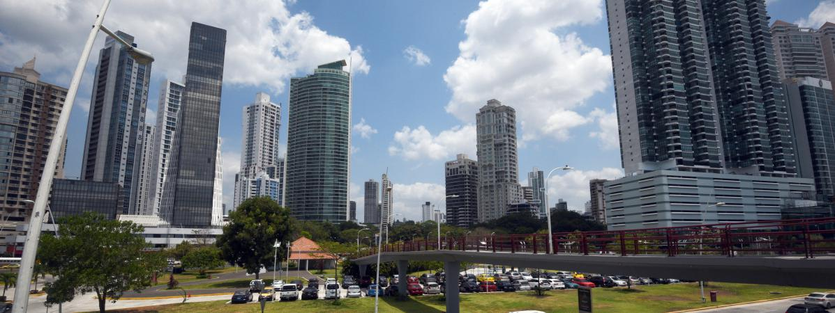 Des buildings à Panama City, la capitale de Panama, le 4 avril 2016.