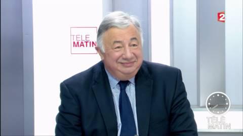 """VIDEO. """"A La République en marche, les bonnes vieilles techniques de désignation par le chef continuent"""", estime Gérard Larcher"""