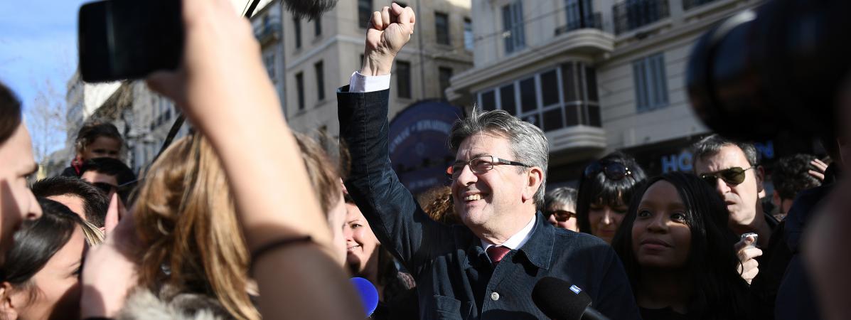 discours jean melenchon loccasion marche pour republique place paris mars