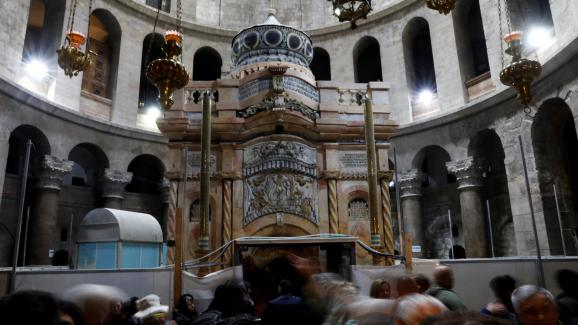 Le tombeau du Christ restauré sera inauguré mercredi à Jérusalem