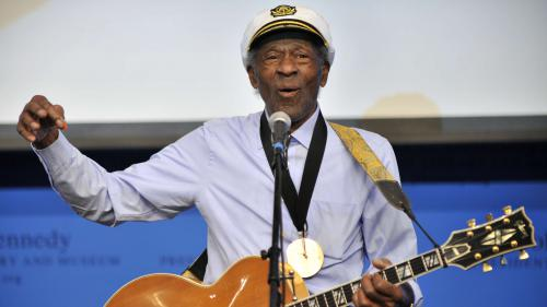 Une chanson inédite de Chuck Berry dévoilée quatre jours après sa mort