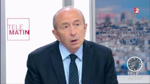 """Les 4 Vérités - Collomb va demander au Royaume-Uni """"d'aider Calais à se développer"""""""