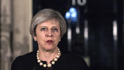 """Attaque à Londres : """"Le choix de la cible n'est pas un hasard"""", estime la Première ministre britannique Theresa May"""