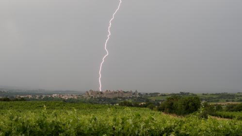 Orages : l'Aude et les Pyrénées-Orientales sont placées en vigilance orange
