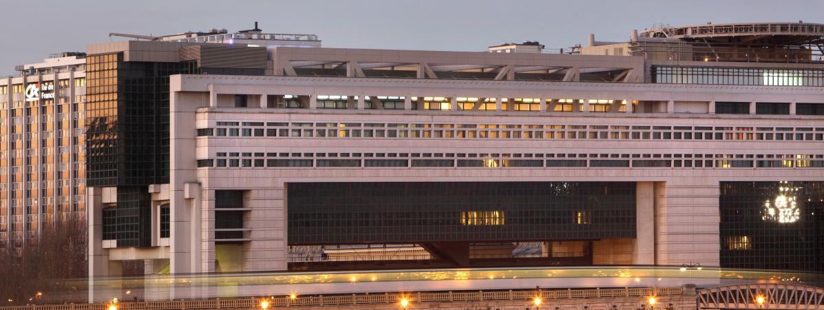 Le ministère de l'Economie à Paris, le 7 janvier 2017.