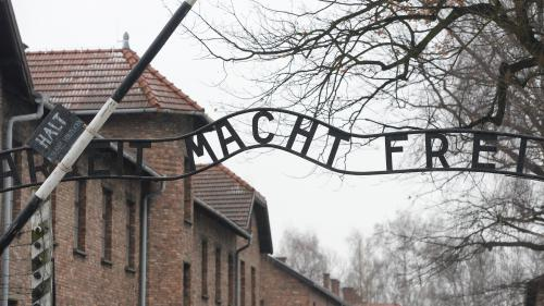 Pologne : un groupe se dénude et tue un mouton devant le portail d'Auschwitz