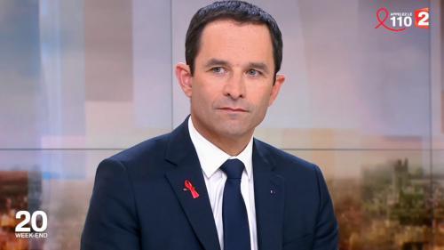 """VIDEO. Hamon sur France 2 : les ralliements à Macron sont """"des coups de couteau dans le dos"""""""