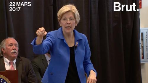 VIDEO. Vous connaissiez Bernie Sanders ? Voici Elizabeth Warren, la sénatrice très remontée contre Donald Trump