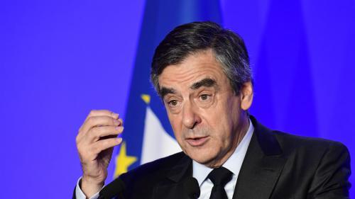 """VIDEO. Présidentielle : """"Jamais les juges ne pourront démontrer que l'emploi de mon épouse était fictif"""", affirme François Fillon"""