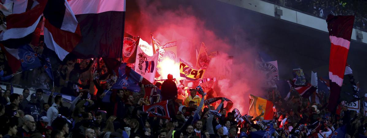 Coupe de la ligue des supporters parisiens arrachent des - Billetterie psg lyon coupe de la ligue ...